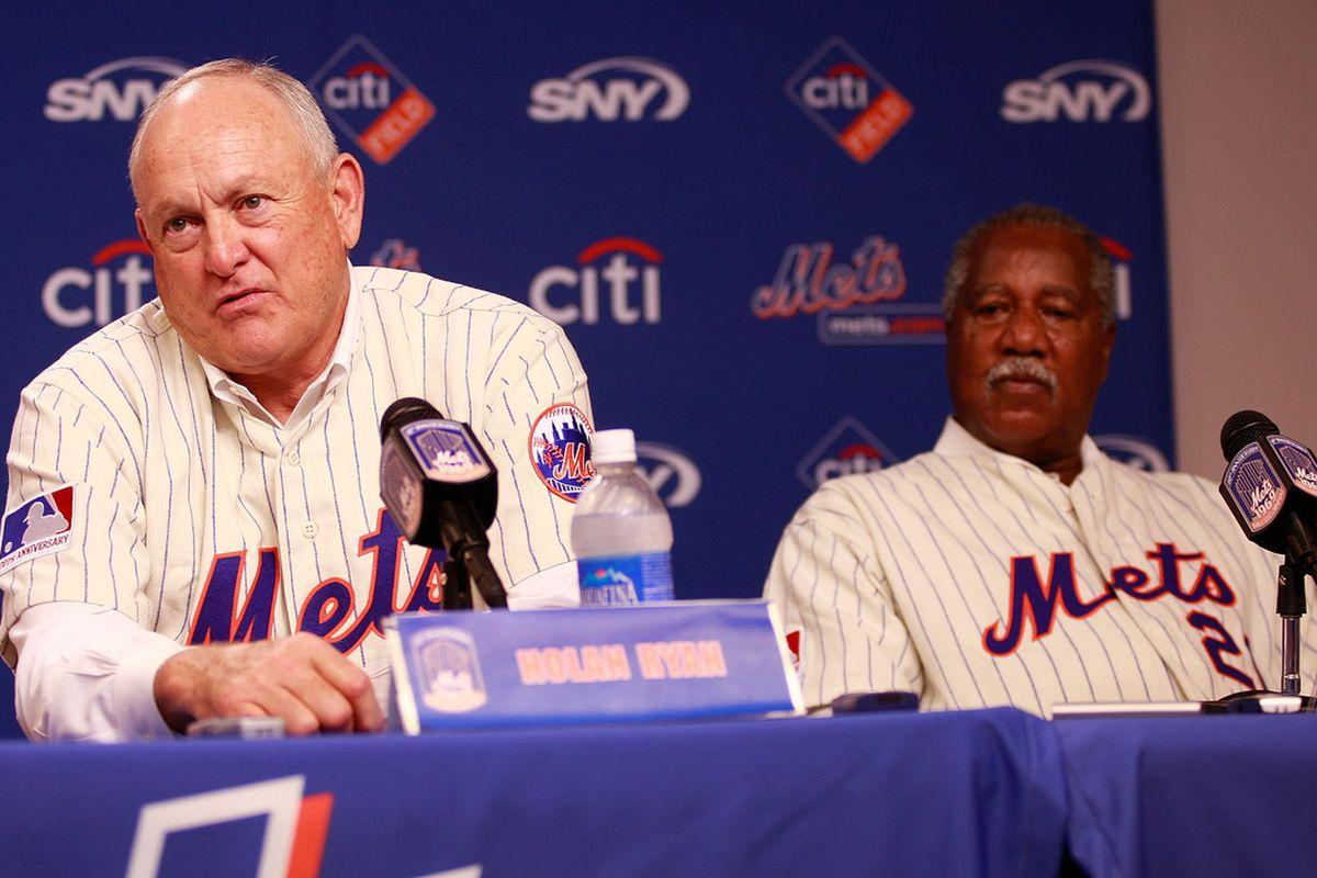 Miracle Mets power couple Clenolan Joryan (Jared Wickerham / Getty Images)
