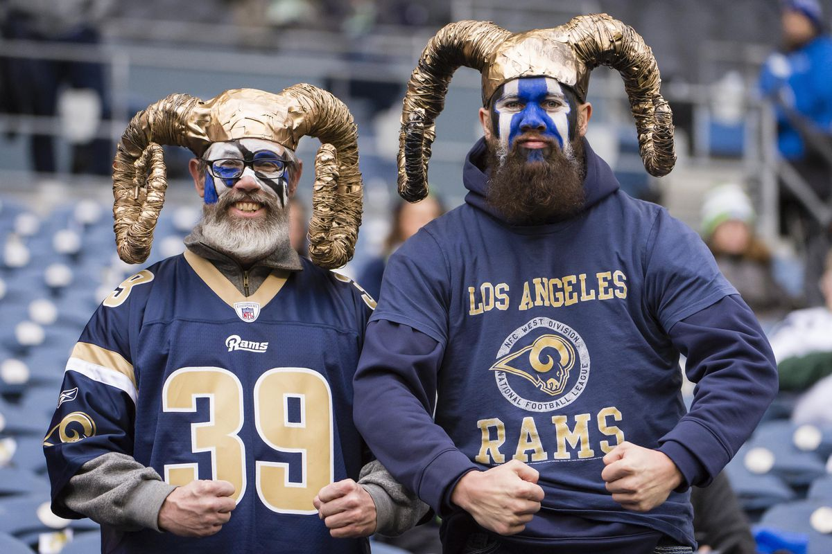 Wholesale Los Angeles Rams are fan favorites in states all over the United