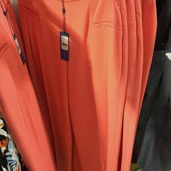 Coral pants, $125 (originally $268)