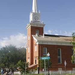 The St. George Tabernacle in 2011.
