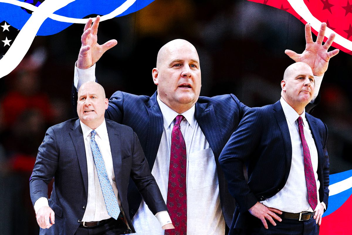 A collage of Jim Boylen coaching the Chicago Bulls