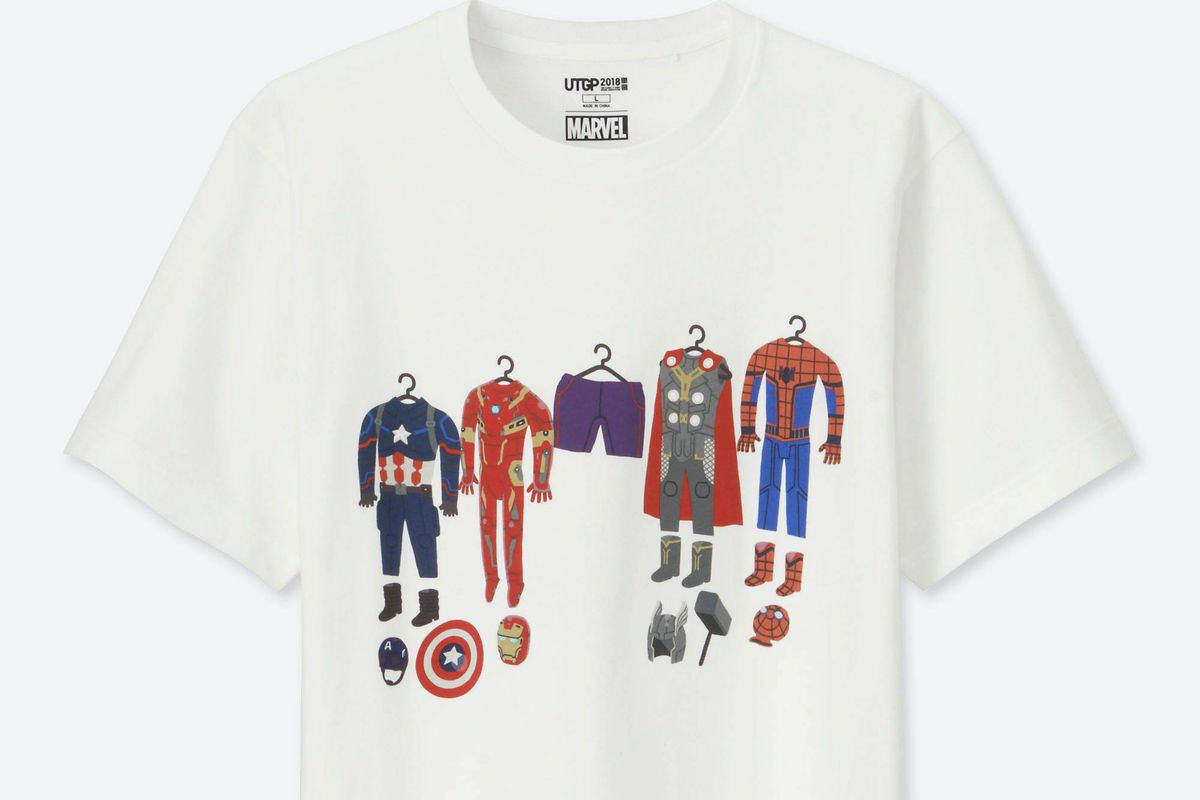 8b48caa1a Fan-designed Marvel shirts hit Uniqlo stores today - Polygon