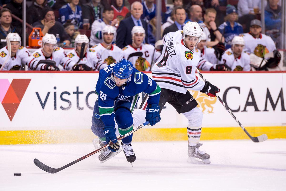 NHL: DEC 28 Blackhawks at Canucks