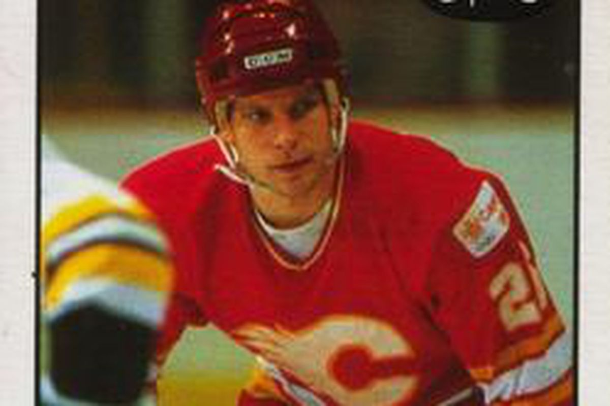 Steve Bozek played 261 games for Calgary, scoring 64 times with 79 helpers.