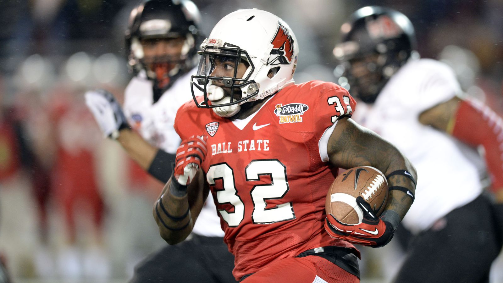 top mac football players of 2014  no  5 jahwan edwards  ball state rb