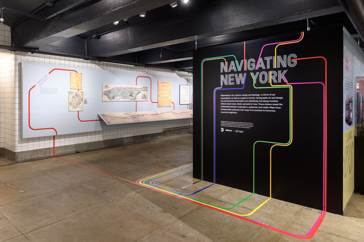 Latest Nyc Subway Map.Nyc Subway Map S History And Influence Examined In New Museum