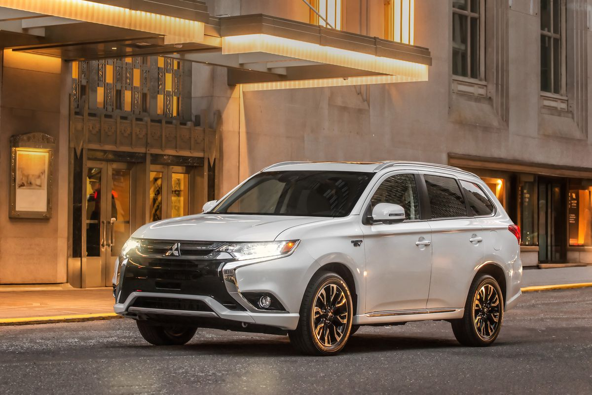 The Mitsubishi Outlander ...