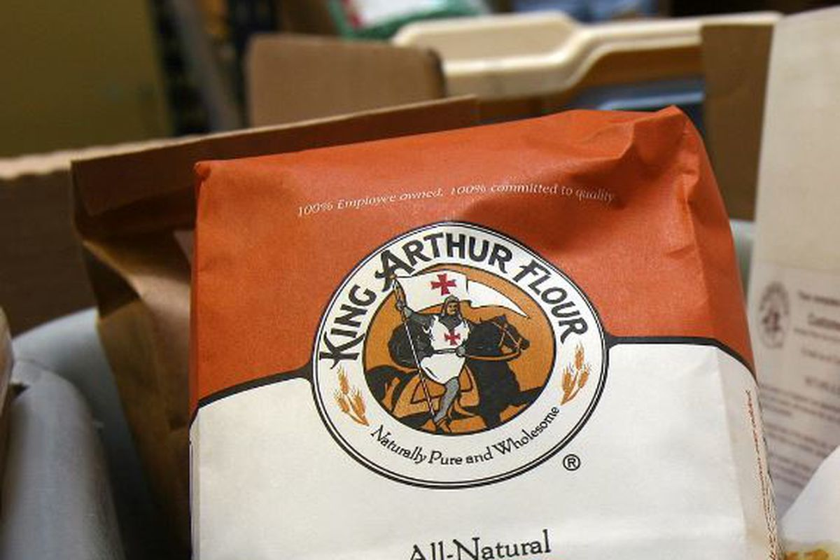 A bag of White Whole Wheat Flour awaits shipping from King Arthur Flour's facility in White River Junction, Vermont on Tuesday May 9, 2006. King Arthur Flour, like many other in the baking industry, is making, using and marketing white whole wheat flour p
