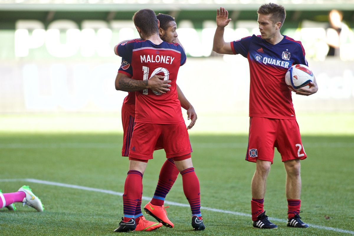 The Chicago Fire played to a 1-1 draw against the Vancouver Whitecaps Saturday.