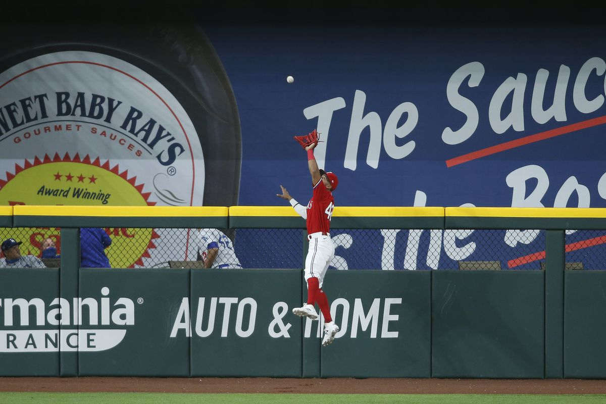 MLB: Los Angeles Dodgers at Texas Rangers