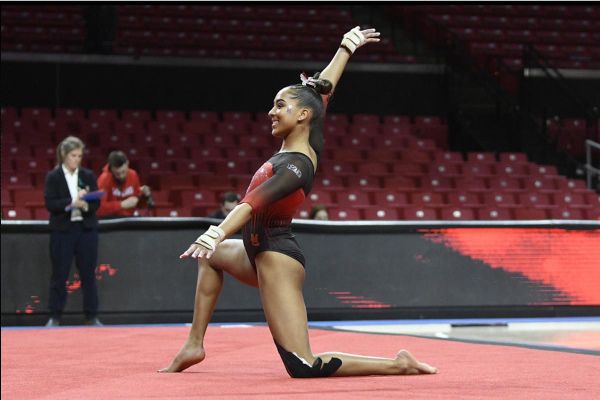 Maryland gymnastics Audrey Barber