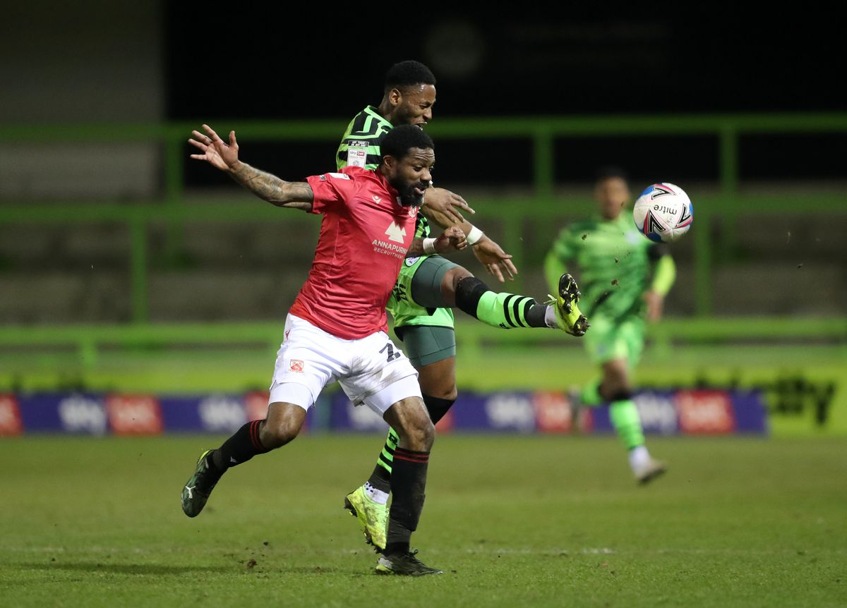 Forest Green Rovers v Morecambe - Sky Bet League Two - The New Lawn Stadium