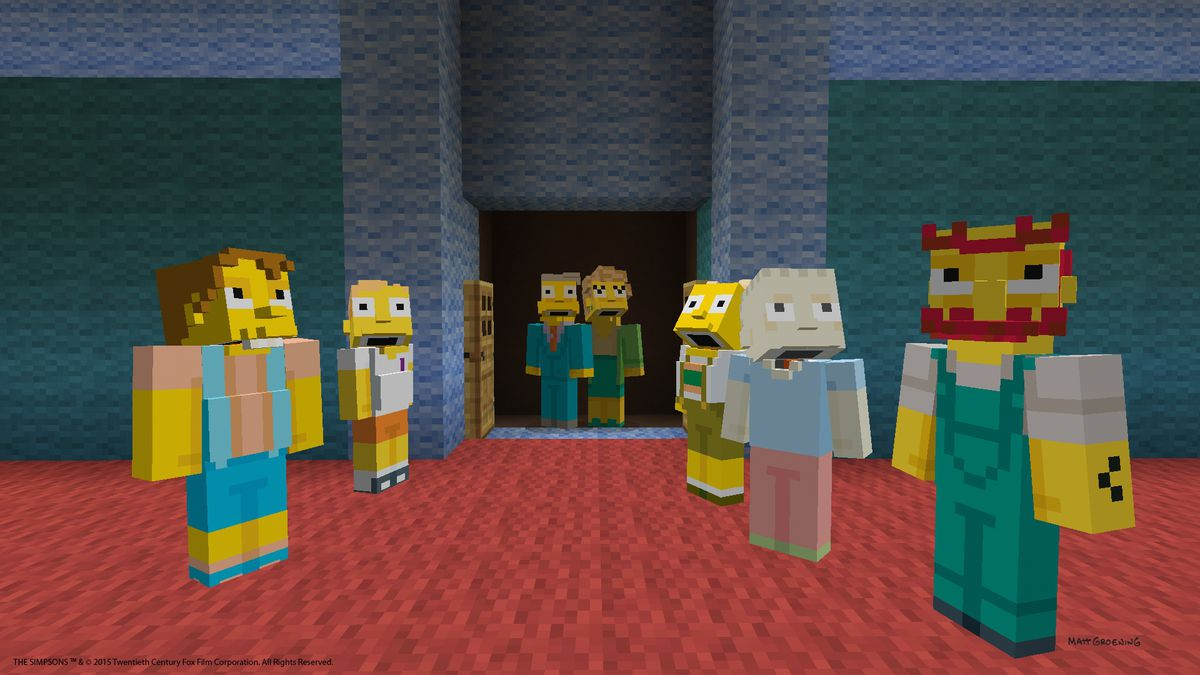Perfectly Cromulent Minecraft Update Brings The Simpsons To