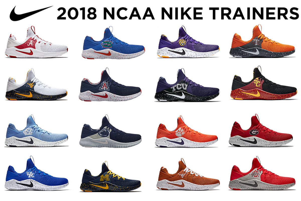 238d19fc37f97 Nike drops new college-themed Free Trainer V8 Week Zero collection ...