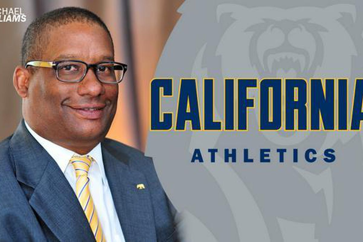 Cal athletic director Mike Williams