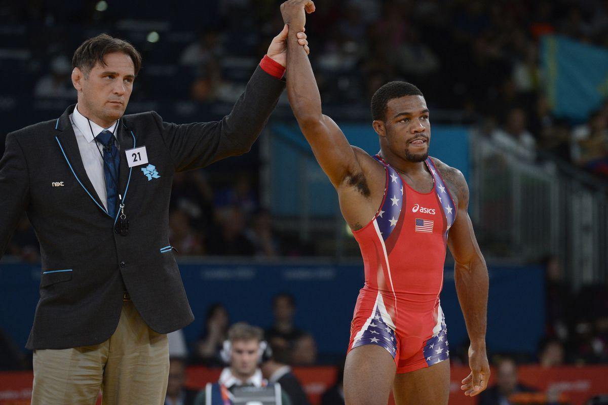 American Jordan Burroughs Wins Wrestling Gold In 74kg Freestyle ... dcb36a736