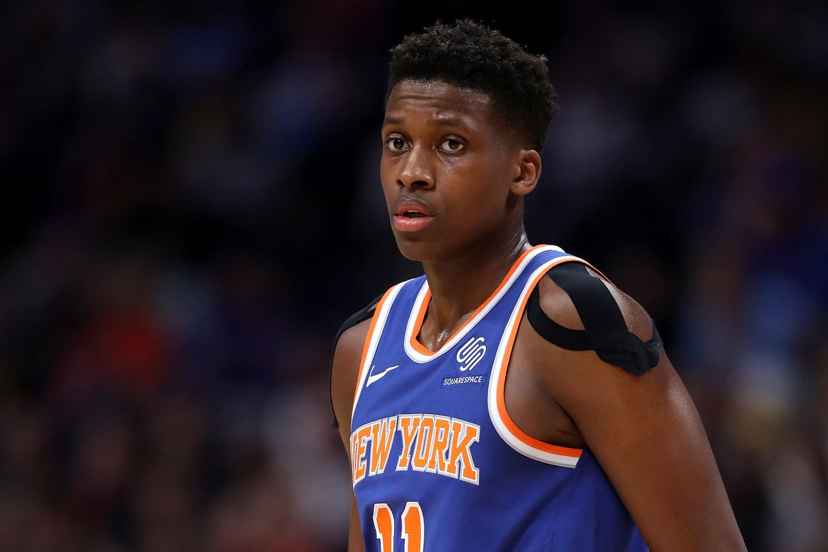 The Knicks shouldn t trade Frank Ntilikina for Dennis Smith Jr. - Posting  and Toasting d493fa281