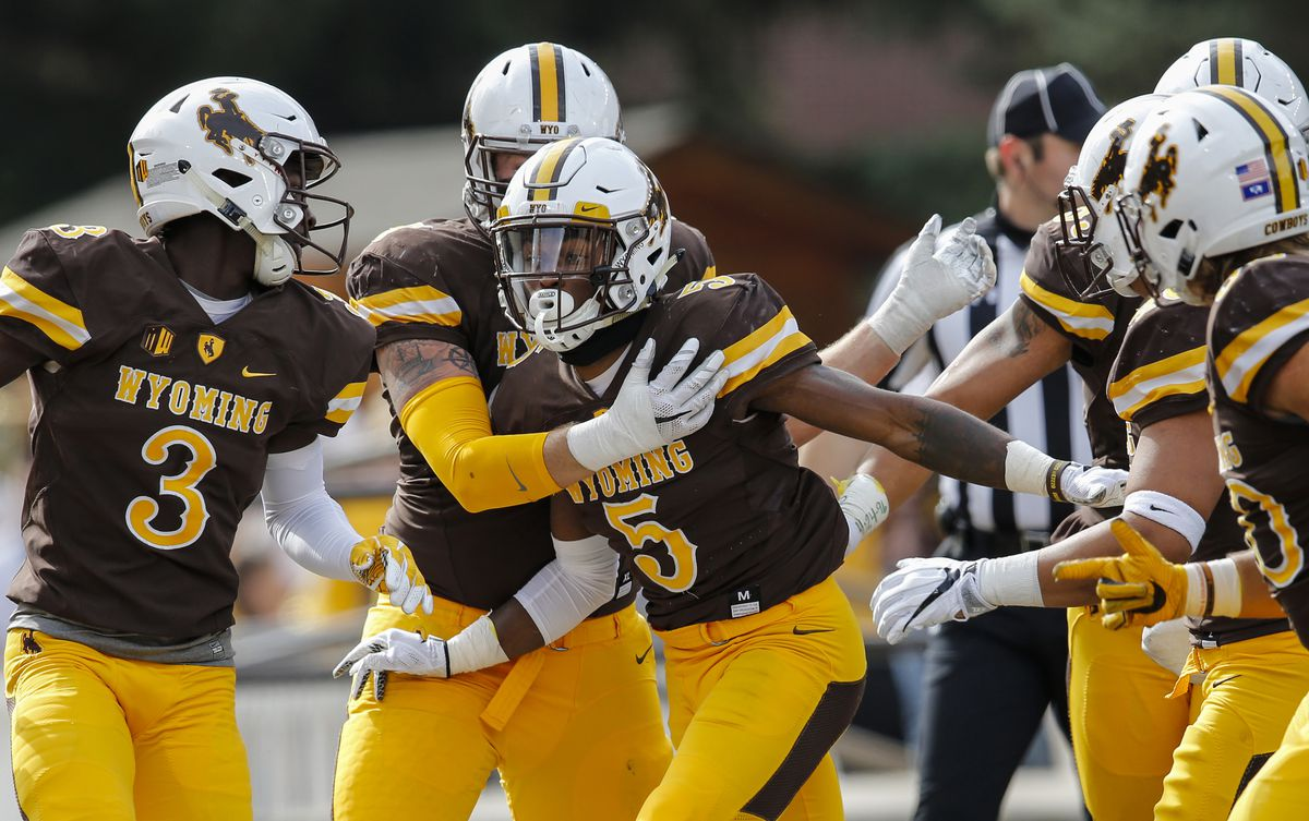 NCAA Football: Texas State at Wyoming