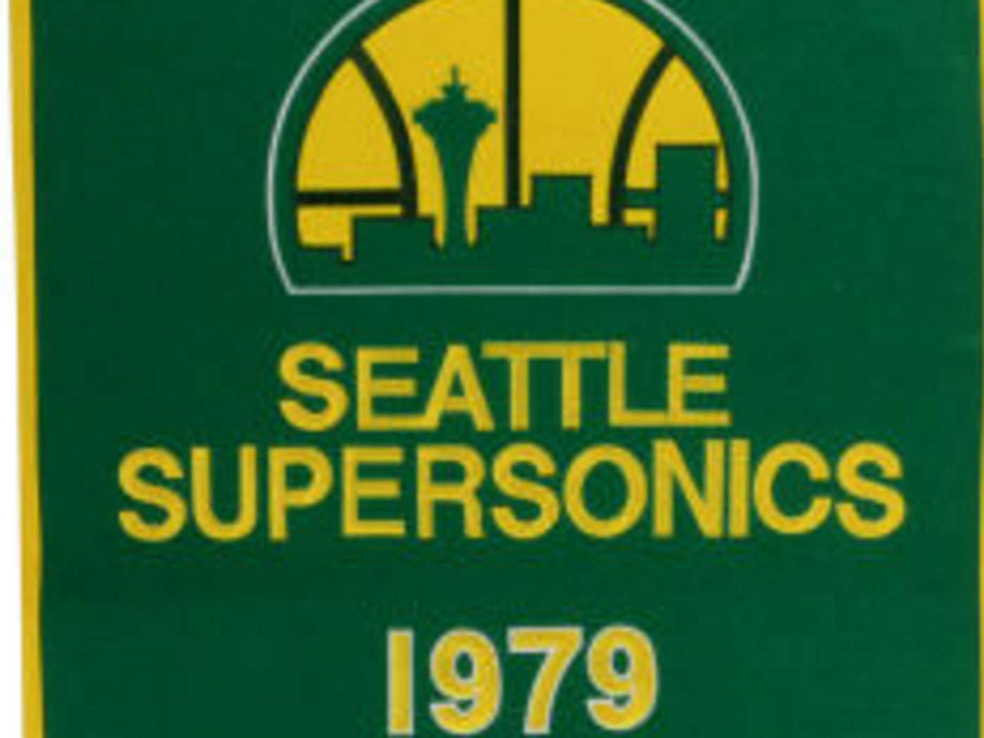 Want Your Own 1979 Seattle Supersonics Championship Banner Sonics Rising