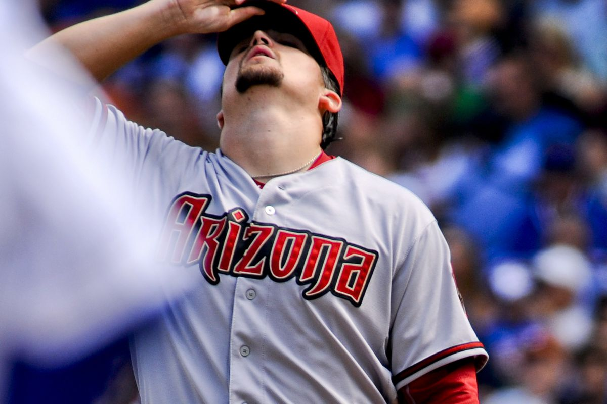 Godley did pitch like he had his cap pulled down over his eyes...