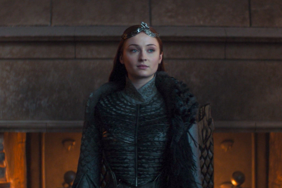 sansa in the game of thrones finale