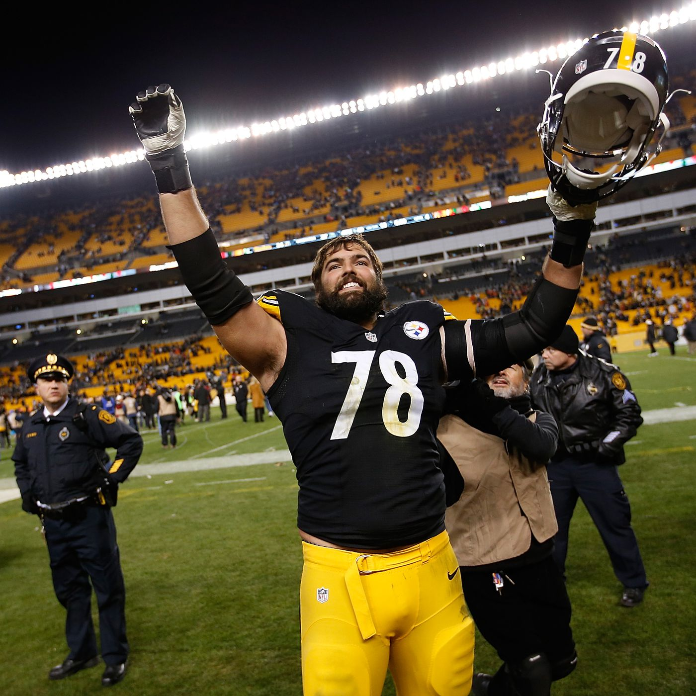 1ba30880b62 Steelers' LT Alejandro Villanueva: Bengals are the nicest team we face all  year