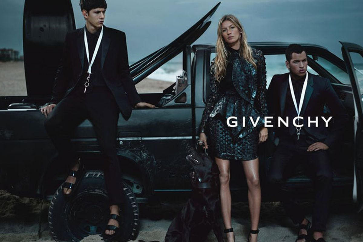 Gisele's Spring 2012 Givenchy ad