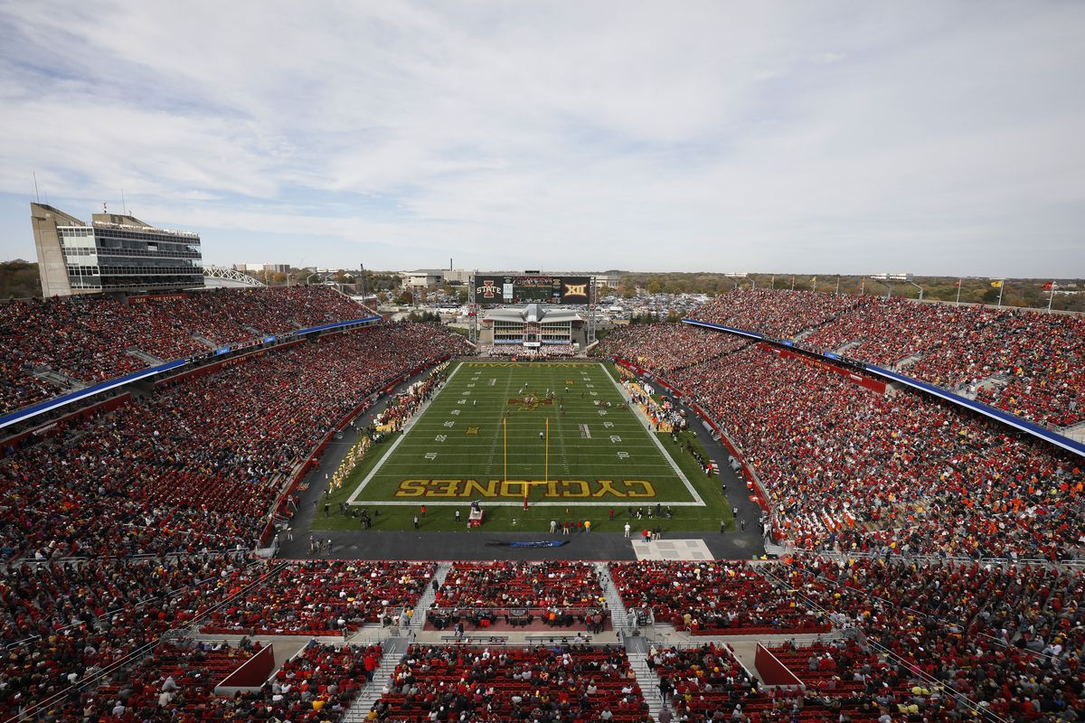 Iowa State's Jack Trice Stadium is the only major-college football stadium named for a Black man.