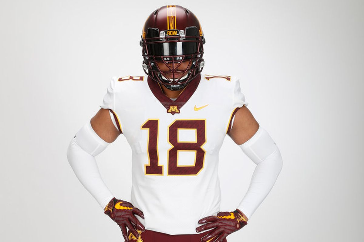 newest 9c762 87ed2 Minnesota Football: Gophers to wear white uniforms for ...