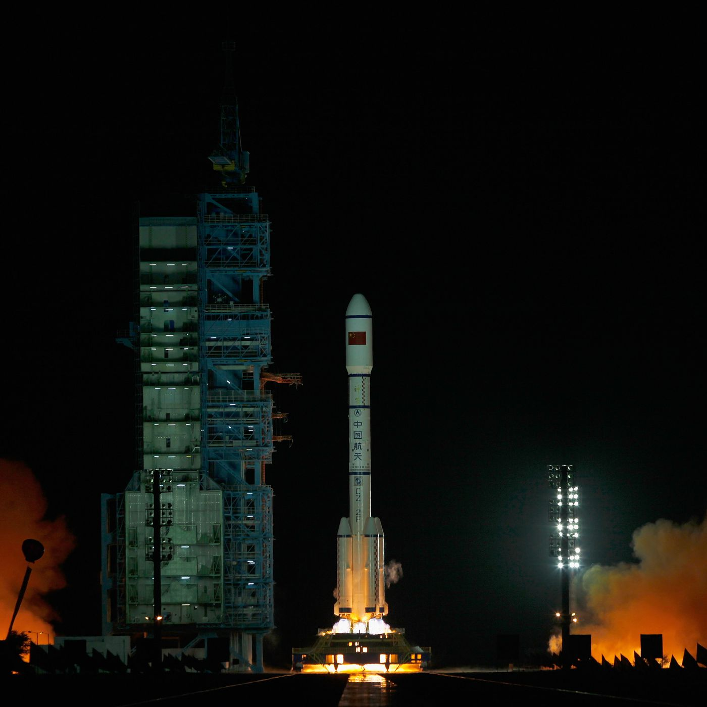 a chinese space station is falling to earth next year but it s the