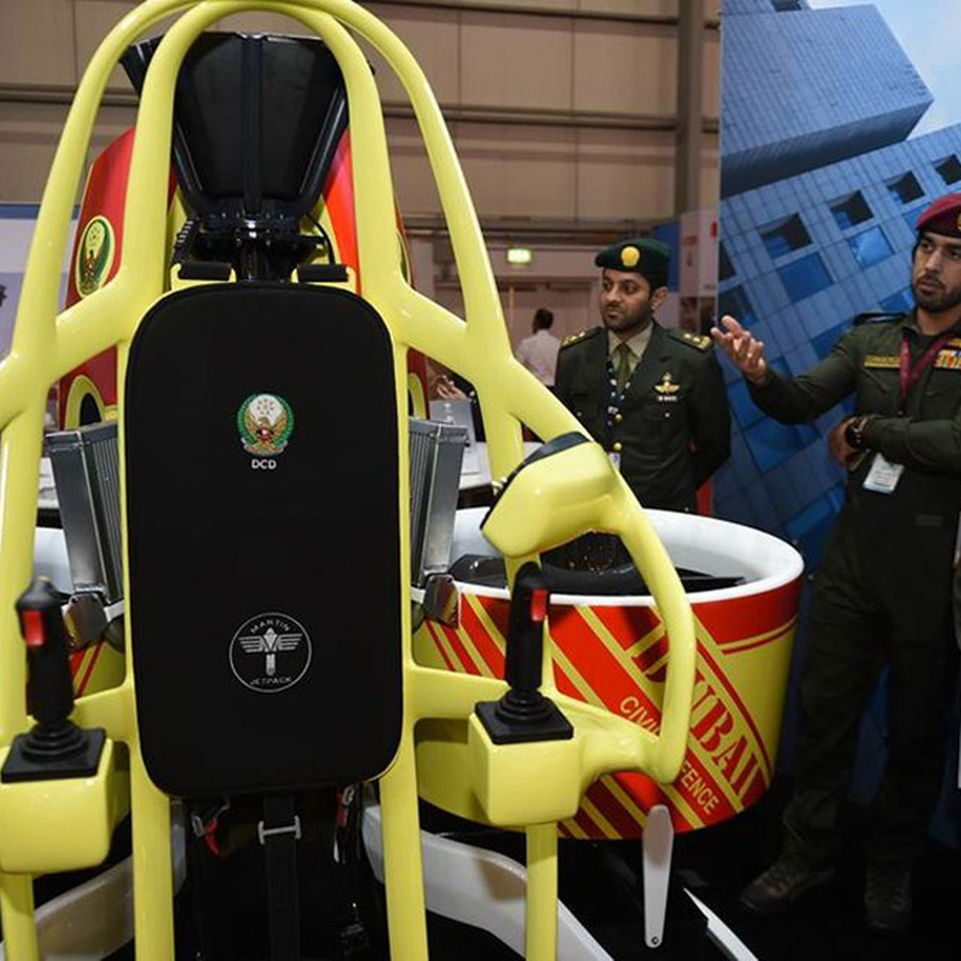 Dubai has ordered 20 jetpacks for firefighters and first