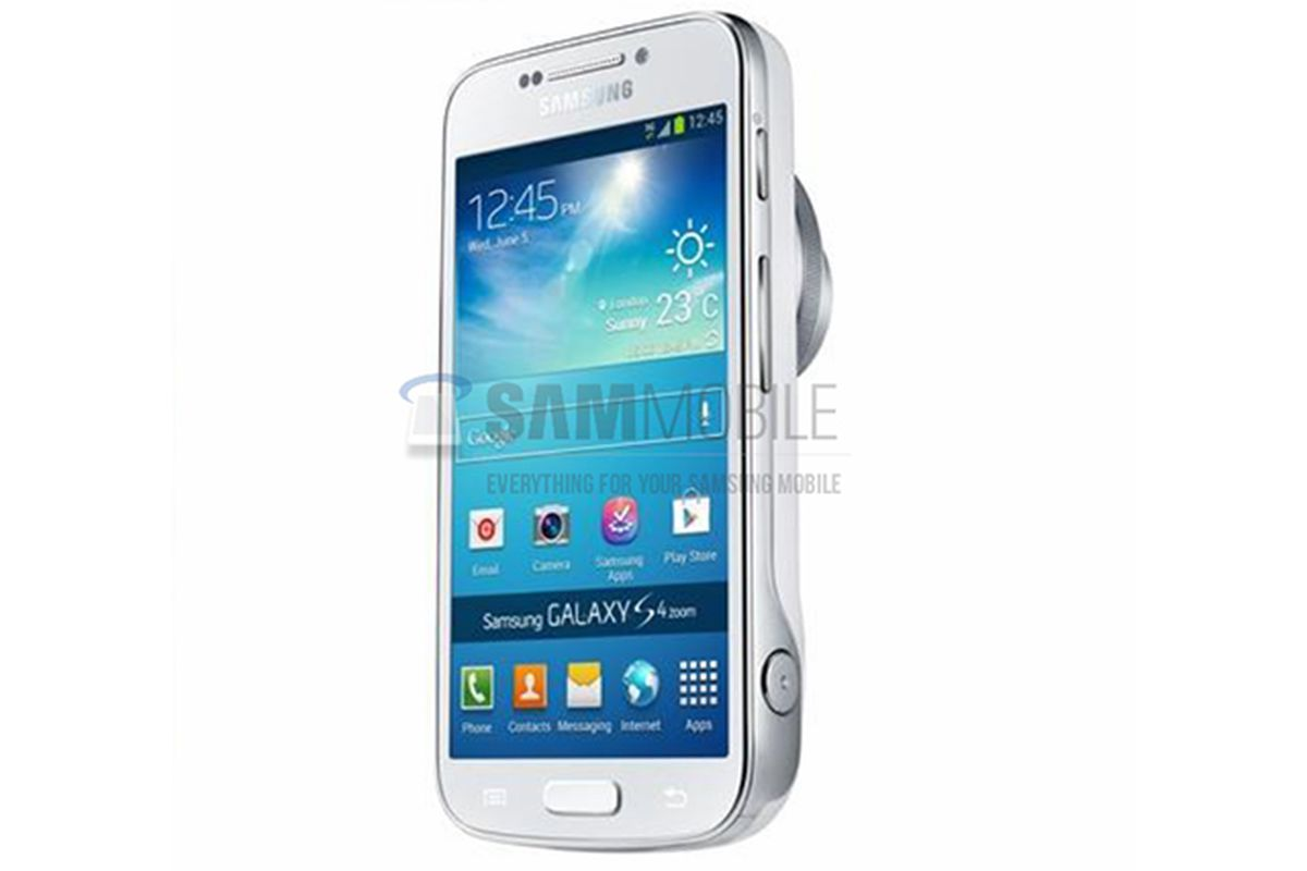 Samsung Galaxy S4 Zoom leaked image (SAMMOBILE)