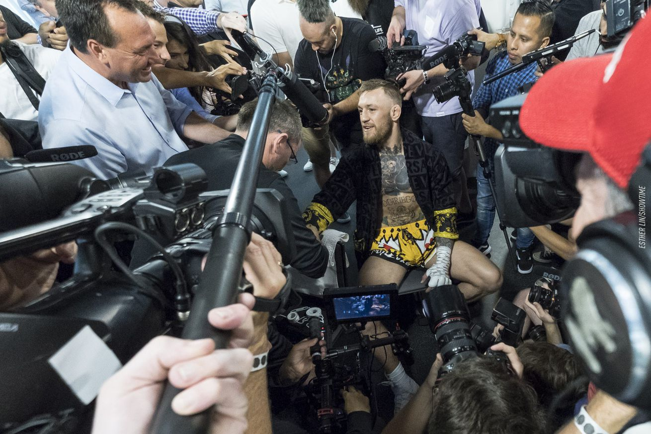 community news, Conor McGregor: Paulie Malignaggi post sparring bashing was 'concussion talk'