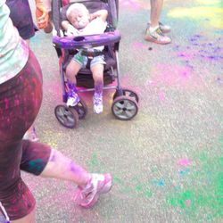 No one is too young for The Color Run 5K.