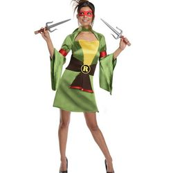 """Ninja Turtles (pictured: Raphael), <a href=""""http://patriciafield.com/collections/halloween-costumes/products/raphael"""">$68</a>"""