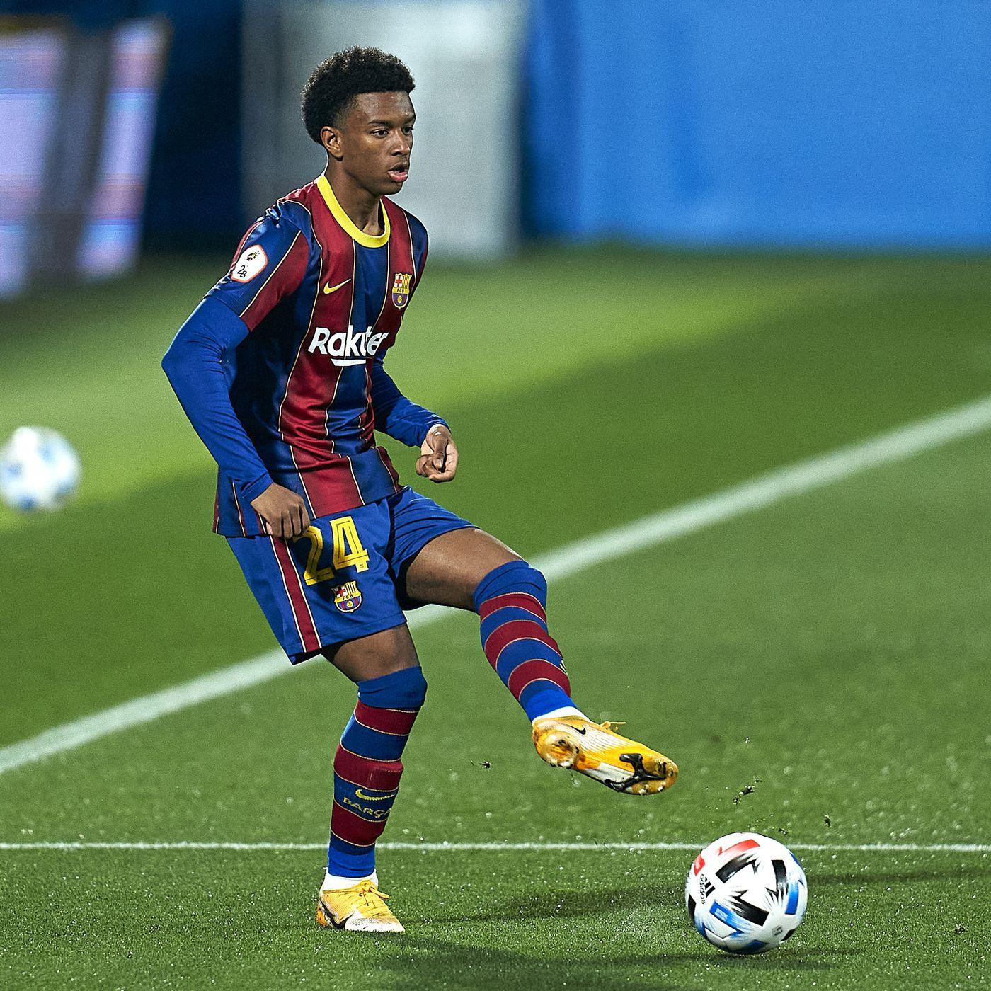 Alejandro Balde gets chance to impress at Barcelona pre-season training -  Barca Blaugranes
