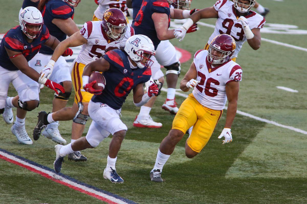 COLLEGE FOOTBALL: NOV 14 USC at Arizona