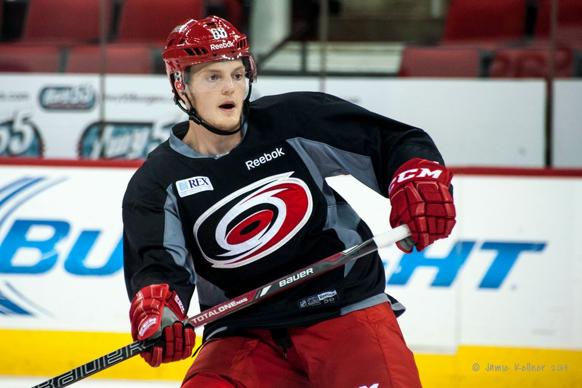 The Hurricanes signed 2013 sicth-round pick Tyler Ganly to an entry-level contract Monday.