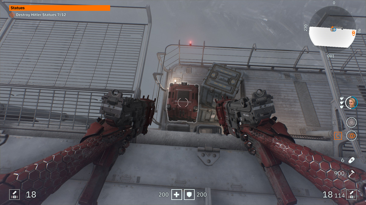 Wolfenstein: Youngblood Concept Package 14 collectiblePolitical Detention Area 4, pt. II