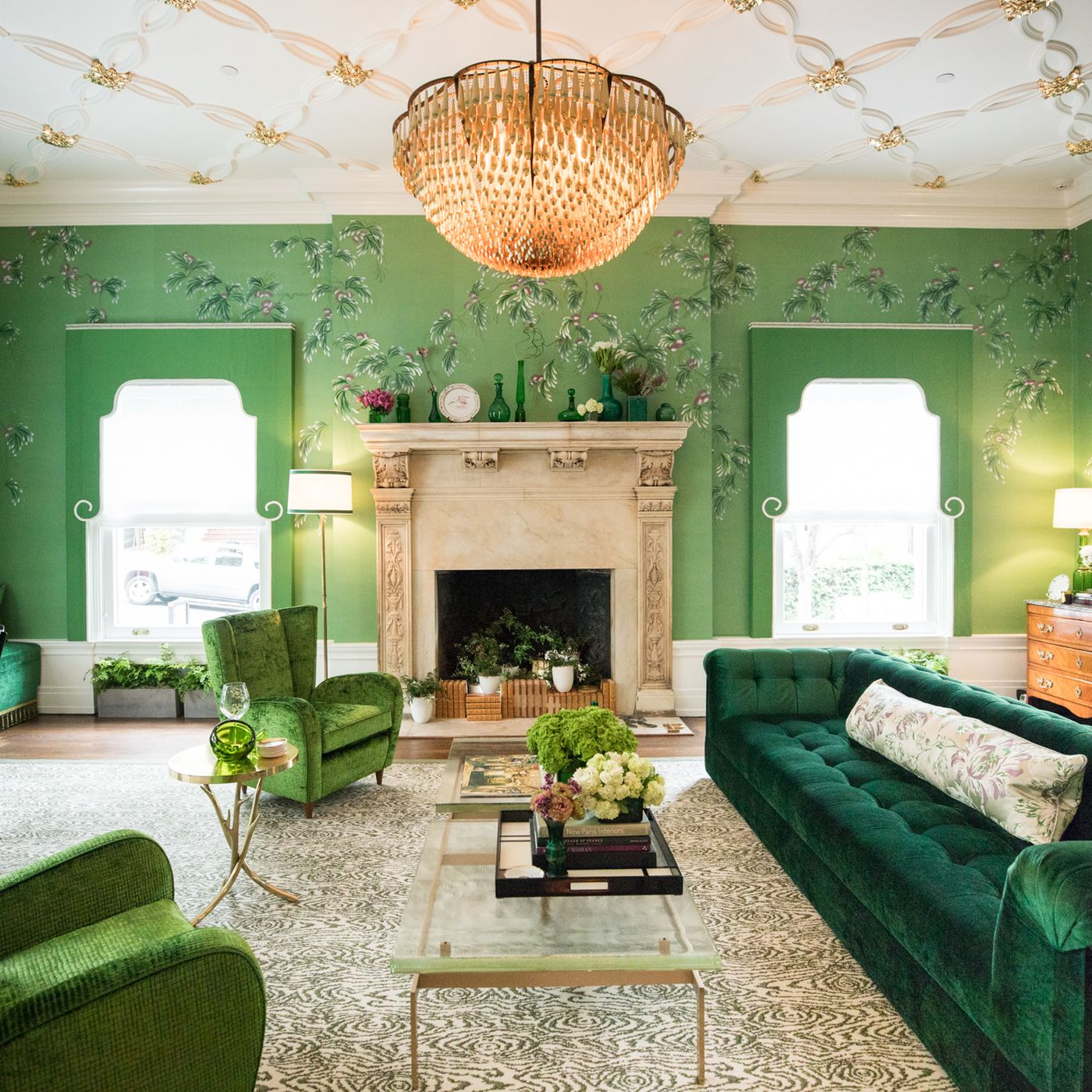 Image result for Jonathan Rachman's emerald living room from 2017