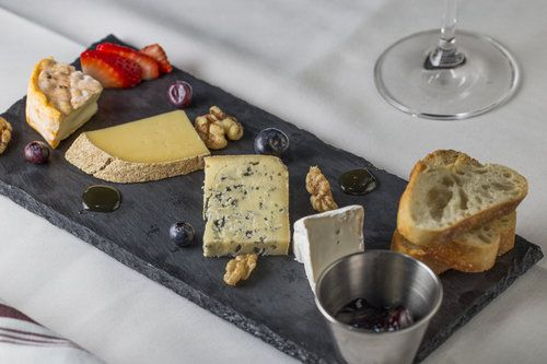 Cheese board at Frenchie