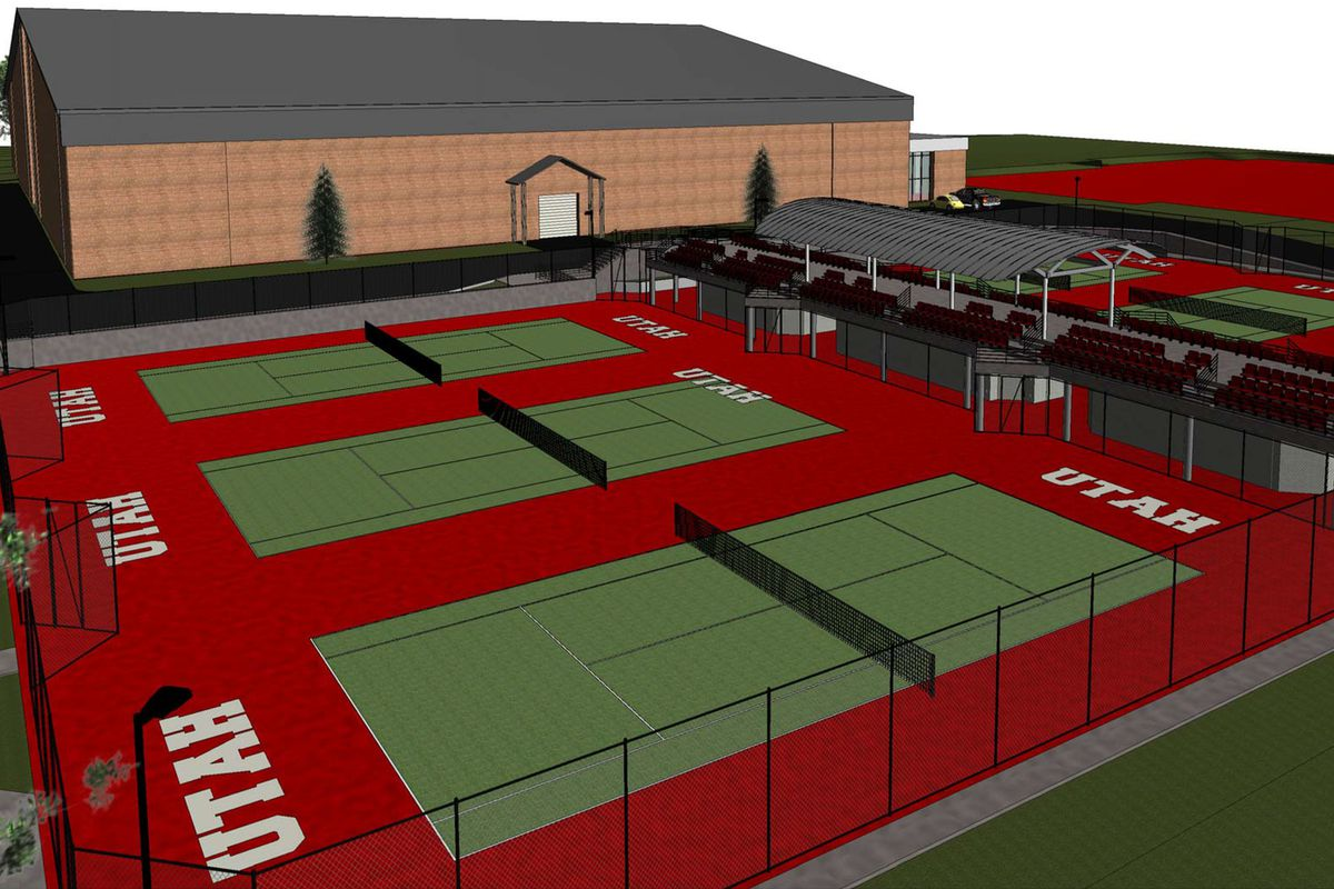 Utah athletics is currently building a state-of-the-art outdoor tennis facility as part of the George S. Eccles Tennis Center.