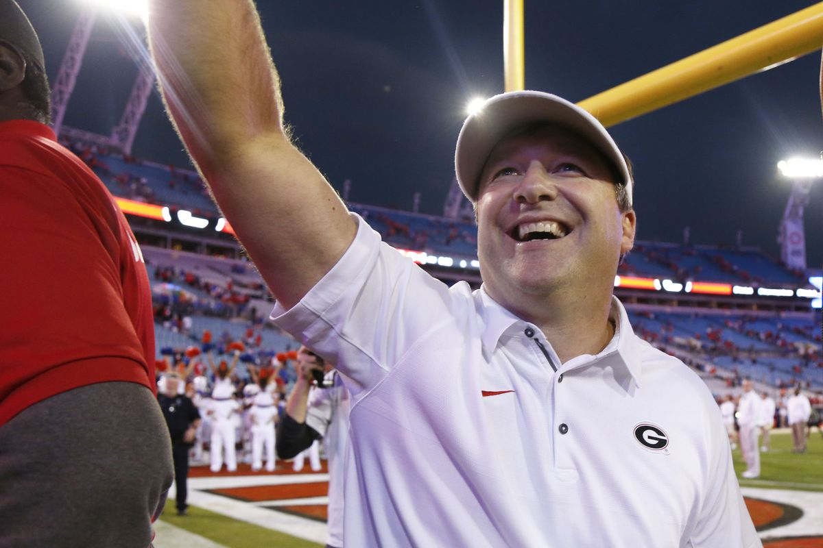 Georgia Football head coach Kirby Smart praises Mark Stoops 99e952bae