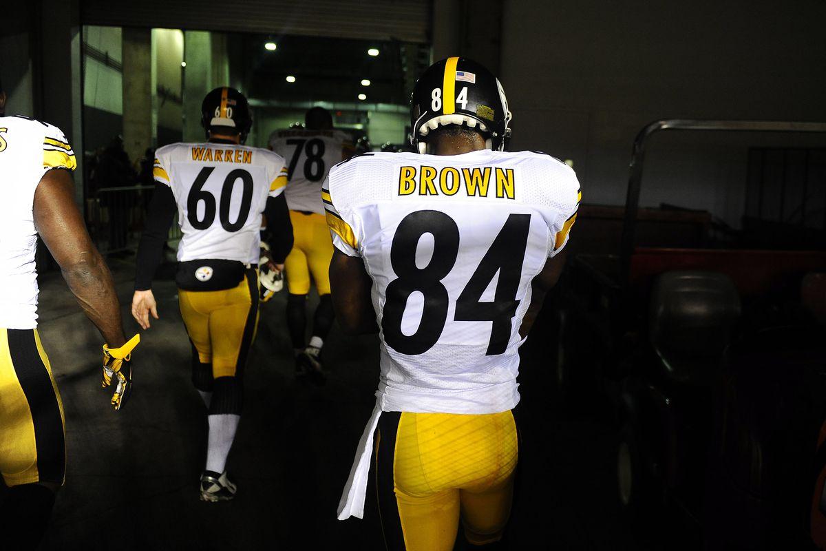 Steelers Injury Report Antonio Brown Nearing A Return To Practice