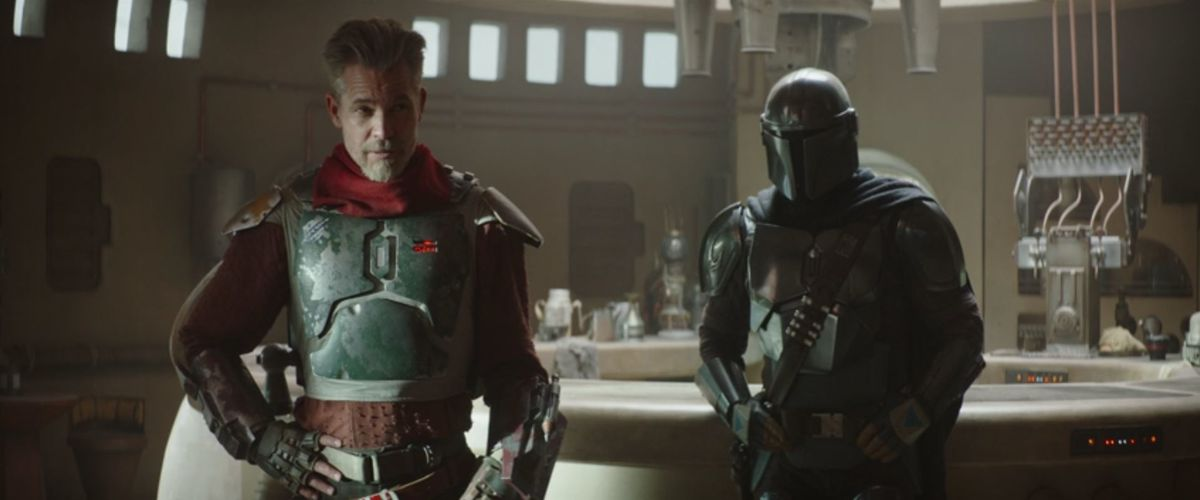 Timothy Olyphant as The Marshall in season 2 of The Mandalorian.