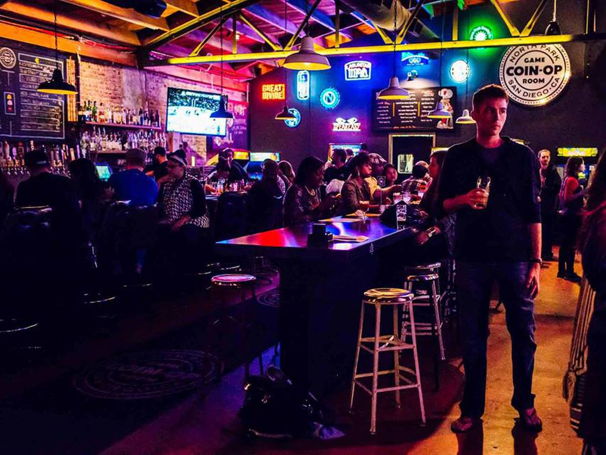 Pleasant Bars Restaurants With Games In San Diego Eater San Diego Cjindustries Chair Design For Home Cjindustriesco
