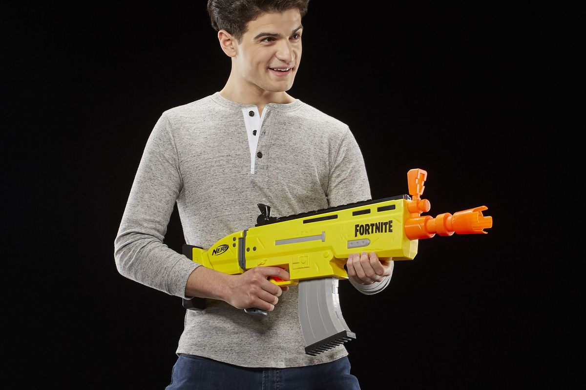 Hasbro S New Fortnite Nerf Guns Launch On March 22nd With
