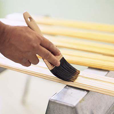 Sealing Wood Wainscoting Panel