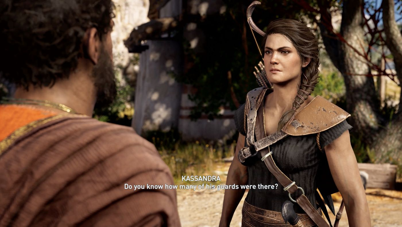 Assassin S Creed Odyssey Review The Verge
