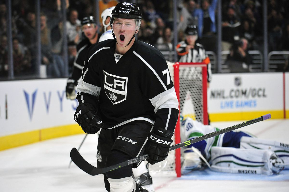Tyler Toffoli is just excited about #fancystats